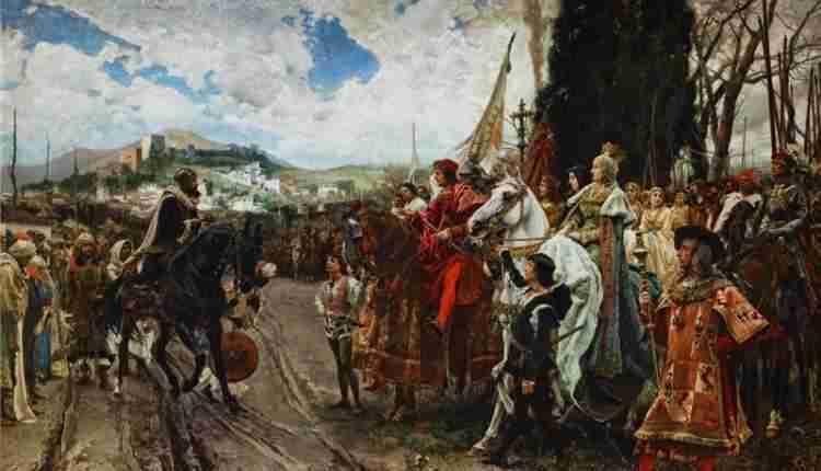 La Rendición De Granada De Francisco Pradilla (2)