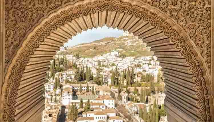 El Albaicin Desde La Alhambra