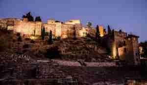 La Alcazaba De Málaga Y El Castillo De Gibralfaro