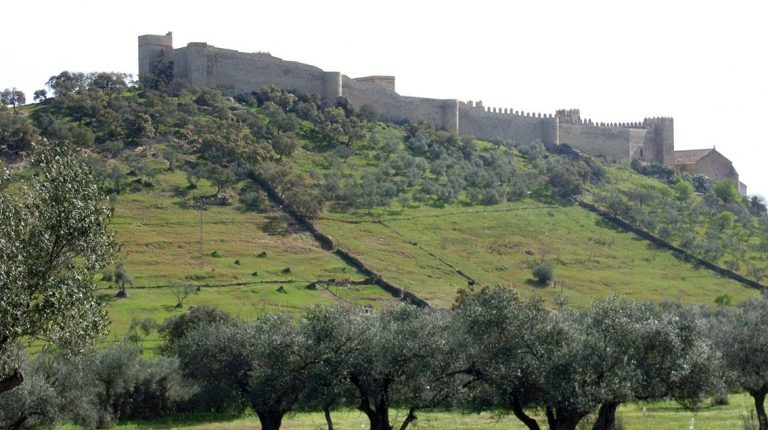Castillo De Santa Olalla Del Cala. Huelva