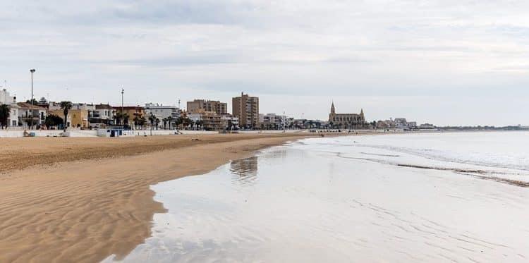 Playa De Regla Chipiona Cadiz
