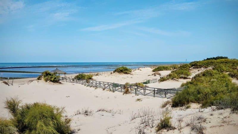 Playa La Laguna Chipiona Cadiz