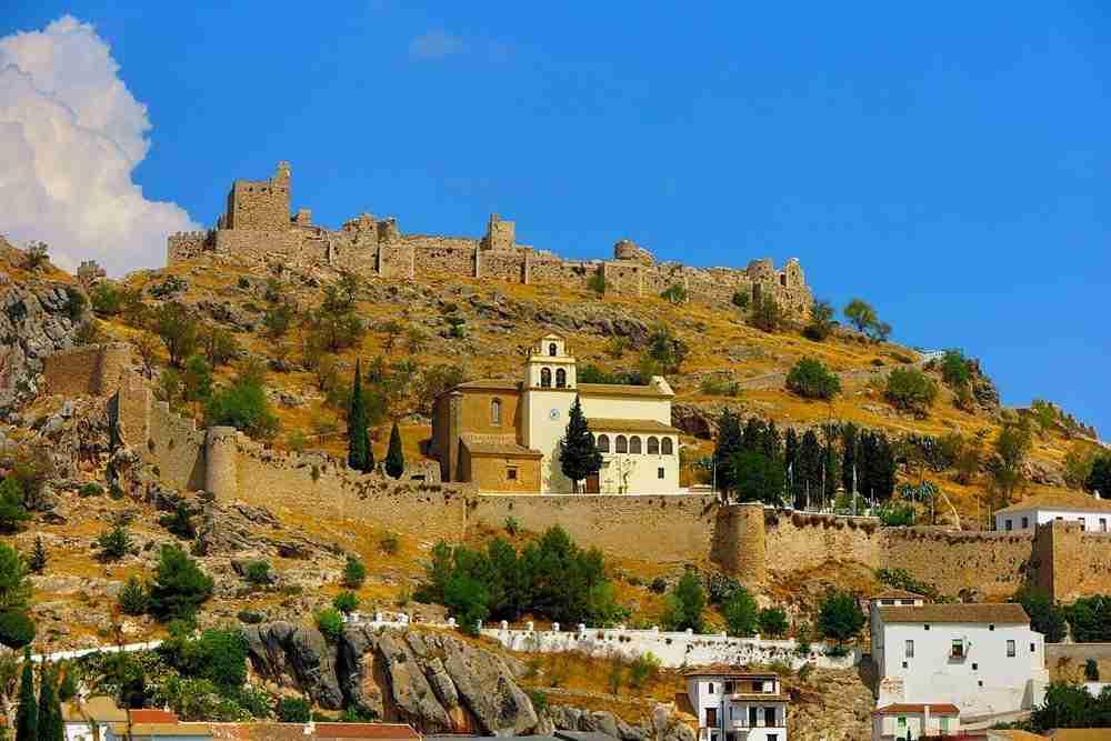 Castillo De Moclin. Granada