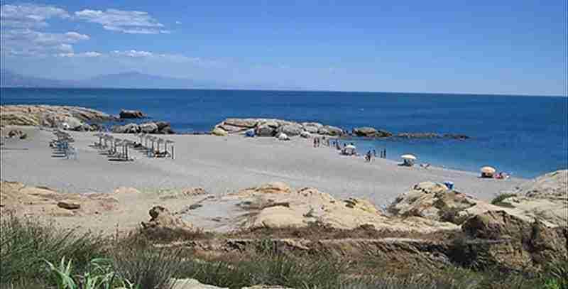 Playa De Las Arenas O Playa Del Gobernador. También Conocida Como Playa Paraíso