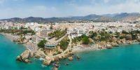 El Balcón de Europa. El mirador de Nerja al Mediterráneo