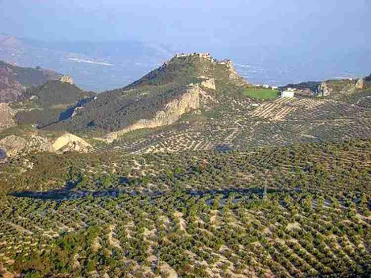 Castillo De Moclín En Granada
