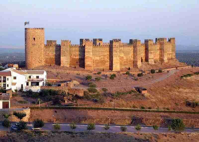 Castillo De Baños De La Encina-Jaen-Andalucia