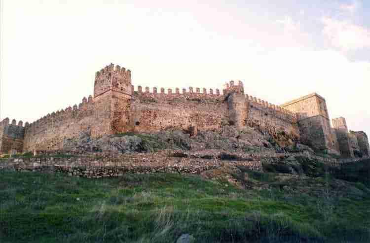 Castillo De Santa Olalla Del Cala. Santa Olalla En Huelva