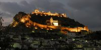 Castillo de Moclín llave para la defensa del Reino Nazarí de Granada.