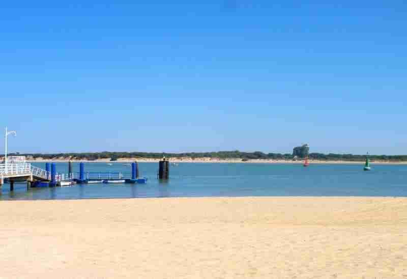 Playa De Bajo Guía. Sanlucar De Barradeda Playa