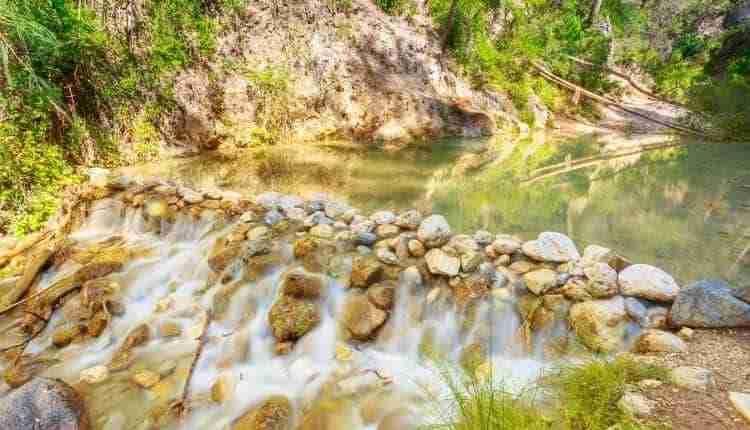 Poza De Los Patos. Rio Chillar Nerja