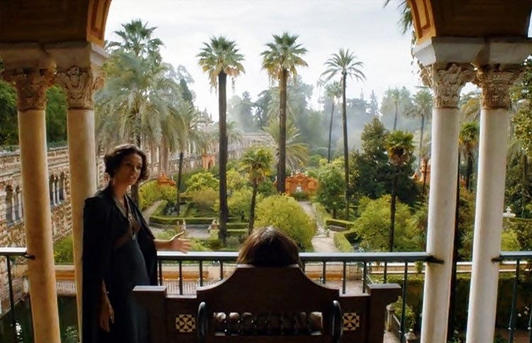 Real Alcázar De Sevilla Juego De Tronos