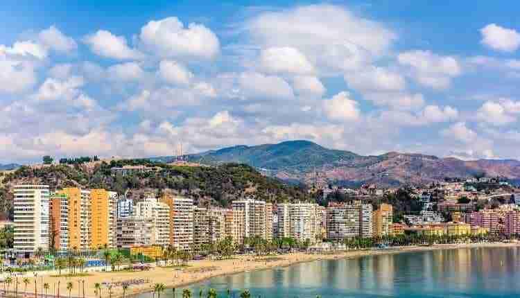 Playas De Málaga. La Costa Del Sol Occidental