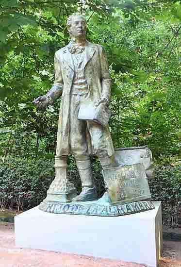 Estatua Washington Irving